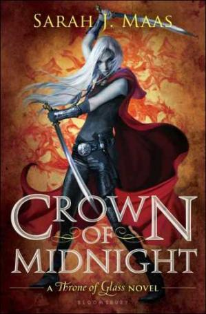 Book cover Crown of Midnight Throne of Glass