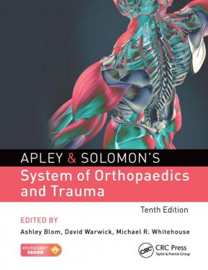 Book cover Apley & Solomon's system of orthopaedics and trauma