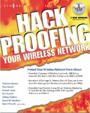Εξώφυλλο βιβλίου Hack Proofing Your Wireless Network