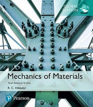 Book cover Solutions Manual for Mechanics of Materials in SI Units