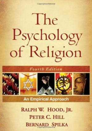 A capa do livro The Psychology of Religion, Fourth Edition: An Empirical Approach
