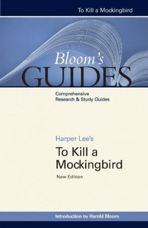 Book cover Harper Lee's To kill a mockingbird (Bloom's Guides)