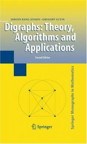 Copertina Digraphs. Theory, algorithms and applications