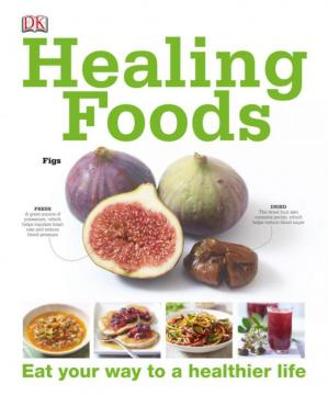 Book cover Healing Foods