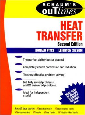 Kitap kapağı Schaum's Outline of Heat Transfer