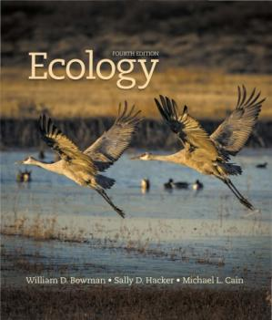 Book cover Ecology