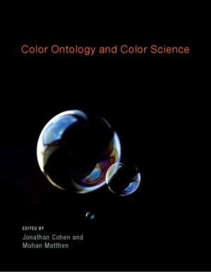 Book cover Color Ontology and Color Science
