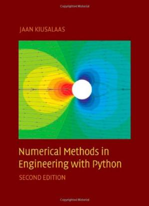 Copertina Numerical Methods in Engineering with Python