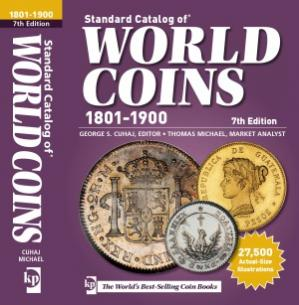 Book cover Standard Catalog of World Coins - 1801-1900 (7th Edition)