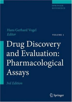 Okładka książki Drug Discovery and Evaluation: Pharmacological Assays
