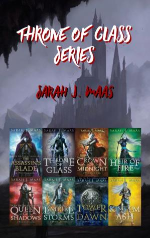 Book cover Throne of Glass Series (1-8)