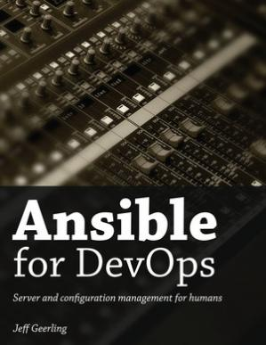 Εξώφυλλο βιβλίου Ansible for DevOps: Server and Configuration Management for Humans