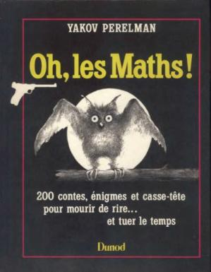 Book cover Oh, les maths !