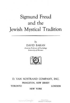 Copertina Sigmund Freud and the Jewish Mystical Tradition