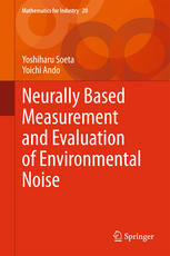 Okładka książki Neurally Based Measurement and Evaluation of Environmental Noise