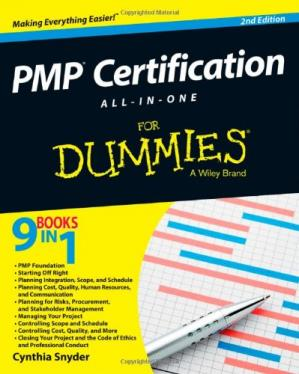 Couverture du livre PMP Certification All-in-One For Dummies