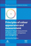 Book cover Principles of Colour and Appearance Measurement: Volume 2: Visual Measurement of Colour, Colour Comparison and Management