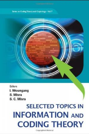 Book cover Selected topics in information and coding theory