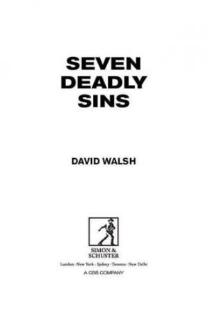 A capa do livro Seven Deadly Sins: My Pursuit of Lance Armstrong