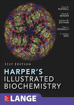 Обложка книги Harper's Illustrated Biochemistry, 31st Edition