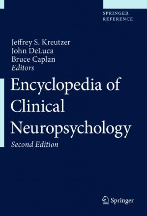 Book cover Encyclopedia of Clinical Neuropsychology