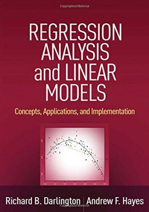 Okładka książki Regression Analysis and Linear Models: Concepts, Applications, and Implementation