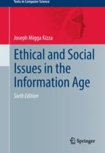 Book cover  Ethical and Social Issues in the Information Age