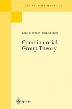 Copertina Combinatorial group theory
