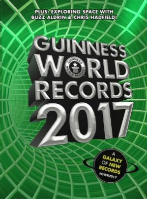 Book cover Guinness World Records 2017