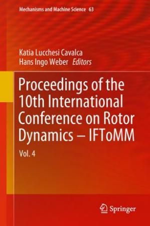 Copertina Proceedings of the 10th International Conference on Rotor Dynamics – IFToMM: Vol. 4