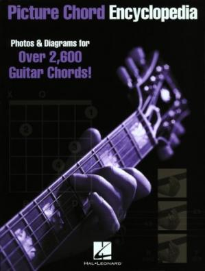 书籍封面 Picture Chord Encyclopedia: Photos & Diagrams for Over 2,600 Guitar Chords