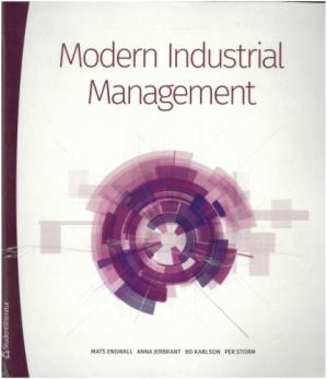 Book cover Modern Industrial Management