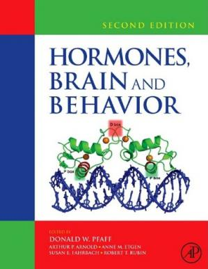 Book cover Hormones, Brain and Behavior, Second Edition
