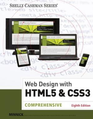 Book cover Web Design with HTML & CSS3 Comprehensive