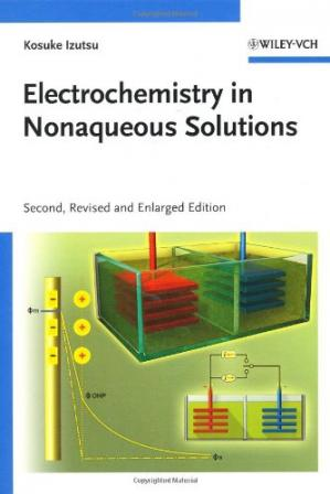 Обкладинка книги Electrochemistry in Nonaqueous Solutions, 2nd Edition