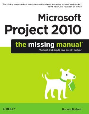 पुस्तक कवर Microsoft Project 2010: The Missing Manual