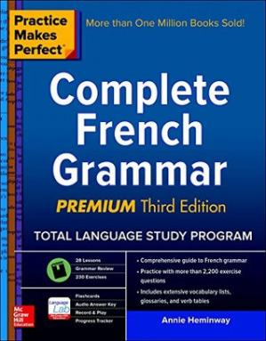 Book cover Complete French Grammar