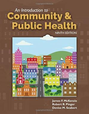 Book cover An Introduction to Community & Public Health