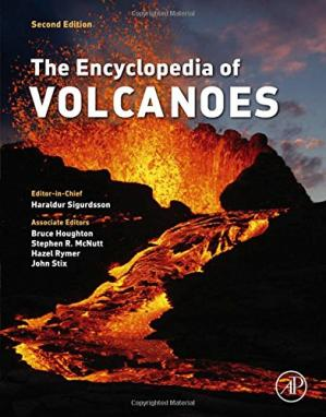 पुस्तक कवर The Encyclopedia of Volcanoes, Second Edition