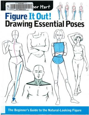 Bìa sách Figure It Out! Drawing Essential Poses: The Beginner's Guide to the Natural-Looking Figure