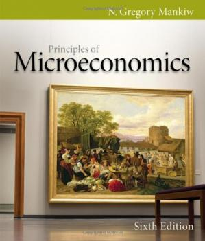Book cover Principles of Microeconomics, Sixth Edition