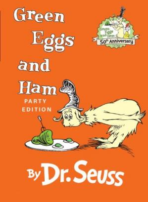 Book cover Green Eggs and Ham