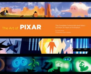 غلاف الكتاب The Art of Pixar: The Complete Color Scripts and Select Art from 25 Years of Animation