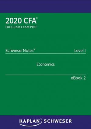 Book cover CFA 2020 - Level 1 SchweserNotes Book 2
