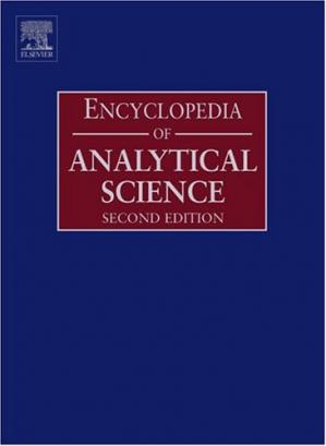पुस्तक कवर Encyclopedia of Analytical Science