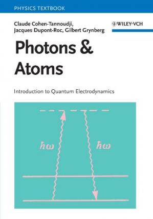 Book cover Photons and Atoms: Introduction to Quantum Electrodynamics (Wiley Professional)