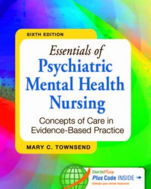 Book cover Essentials of Psychiatric Mental Health Nursing: Concepts of Care in Evidence-Based Practice