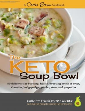 Book cover The KETO Soup Bowl