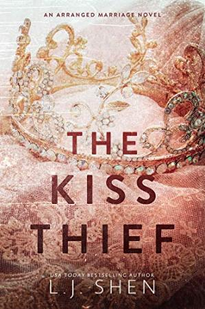 A capa do livro The Kiss Thief