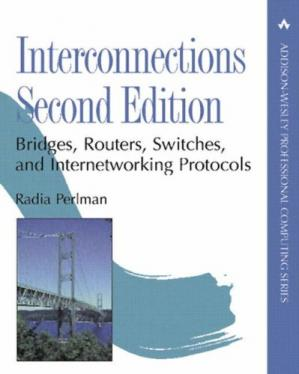 Sampul buku Interconnections: Bridges, Routers, Switches, and Internetworking Protocols